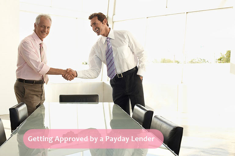 getting approved by a lender