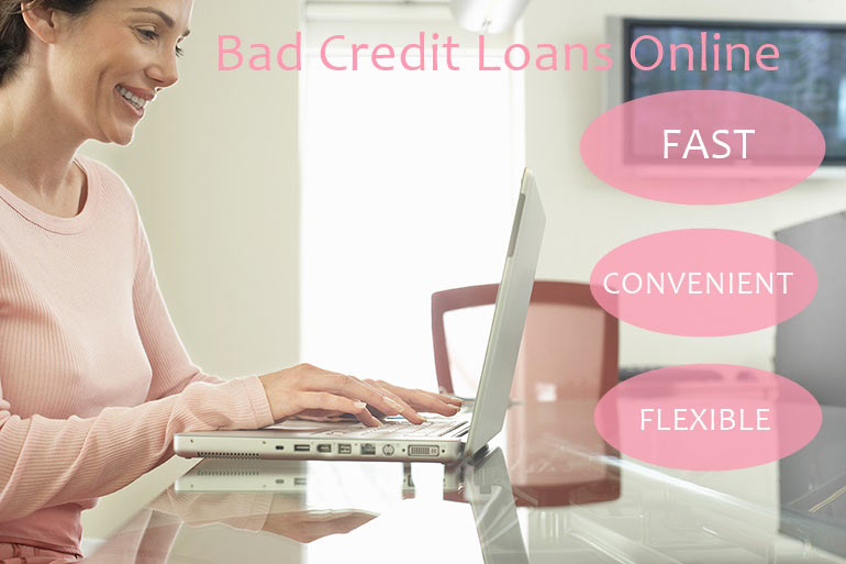 advantages of online bad credit loan