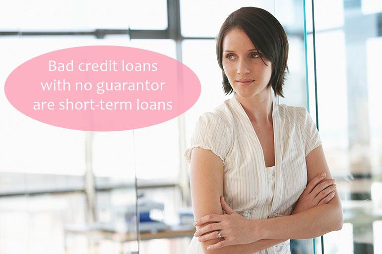 short term loan without guarantor