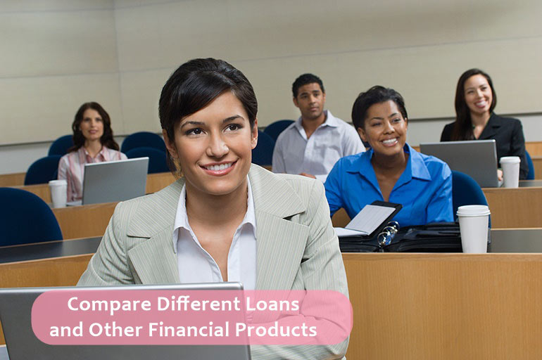 compare different loans and options