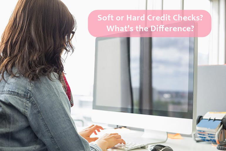 different between credit checks