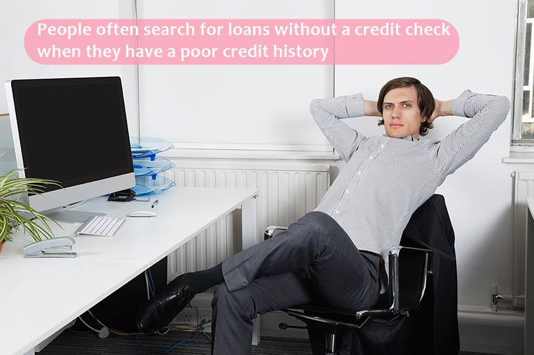 search for loan without credit check