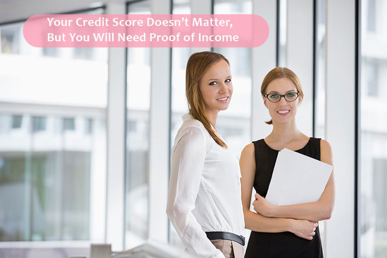 to get loan you need a proof of income