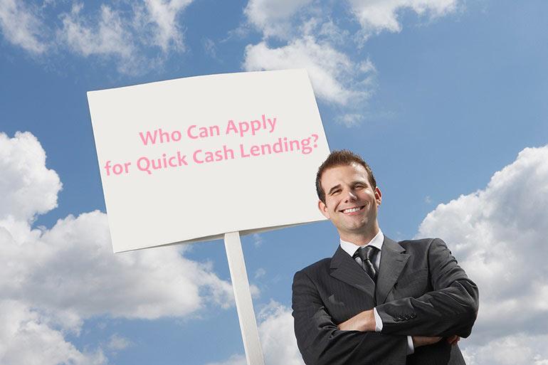 apply for quick cash lending