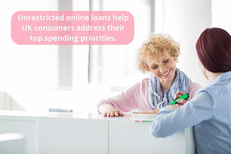 spending online loans